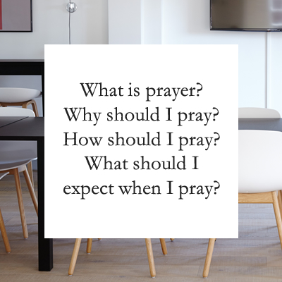 how should i pray